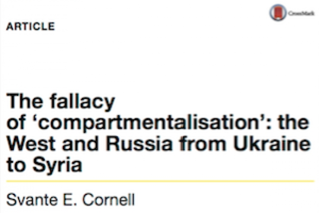 The fallacy of 'compartmentalisation': the West and Russia from Ukraine to Syria